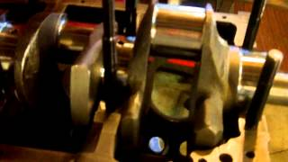 engine building with rog rod vise rod orientation stroker clearance