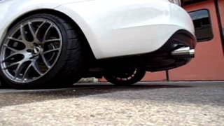 bmw 135i n54 performance exhaust downpipes wagner