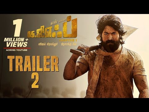 KGF Chapter 1 Official Trailer 2 Tamil | Yash | Srinidhi Shetty | Prashanth Neel | Vijay Kiragandur