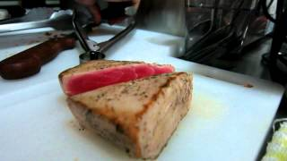 Ahi Tuna Steak Moonlight Restaurant Pattaya Japanese Style