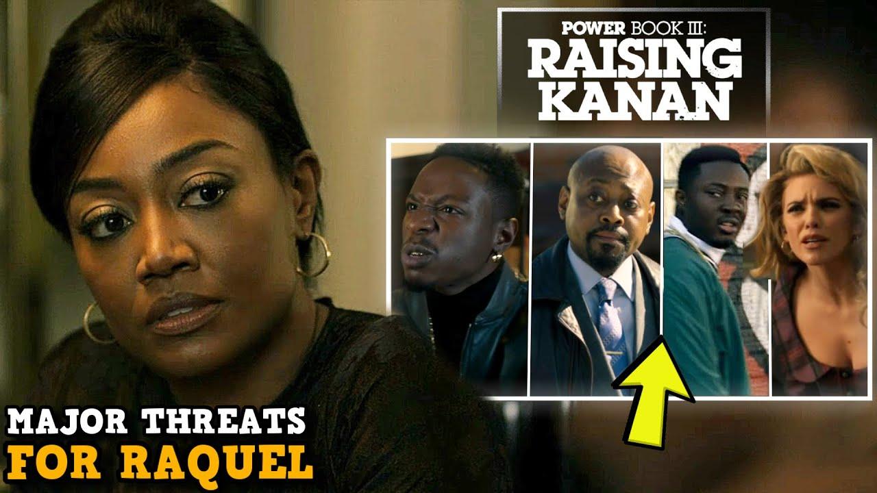Download Power Book III: Raising Kanan 'MAJOR THREATS To Raquel & The Thomas Family' Explained