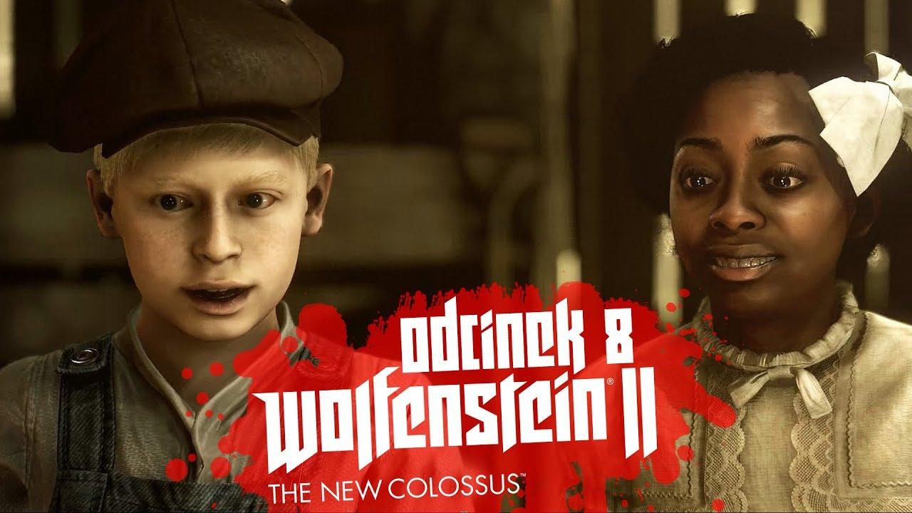Zagrajmy w Wolfenstein II The New Colossus #8 – MŁODY BLAZKOWICZ – PC