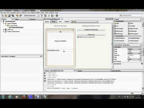 Netbeans   Java ME application