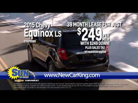 Lease a 2015 Chevy Equinox for just $249 per month!
