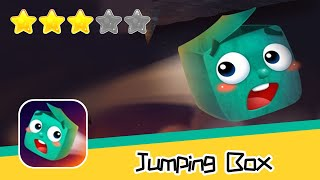 Jumping Box - Walkthrough Cube Bounce Doodle Geometry Jump Recommend index three stars