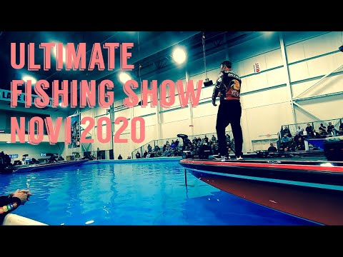 Ultimate Fishing Show Novi Michigan 2020