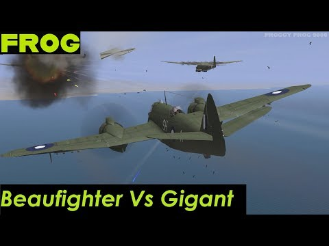 Bristol Beaufighter Vs Me323 Gigant - North Africa (IL-2: 1946)