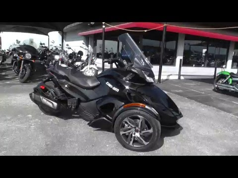 002106 - 2014 Can Am Spyder STS - Used Motorcycle For Sale
