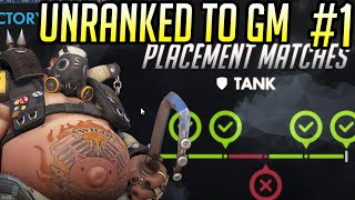 UNRANKED TO GM: ROADHOG ONLY - Ep. 1