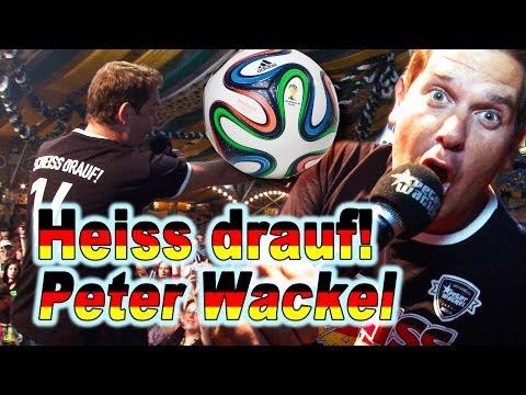 Peter Wackel, Heiss drauf - Fussball Lieder