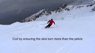 Align Balance Coil with every turn of your skis