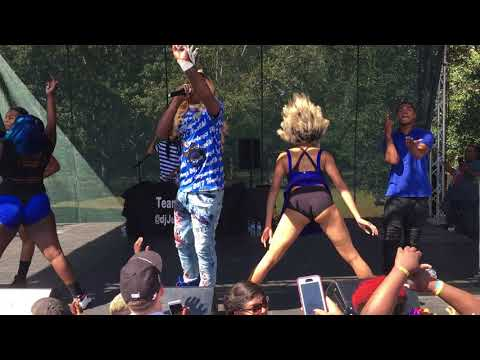 BIG FREEDIA TWERKS IT OUT!!!!! (LIVE) : Charleston Pride Festival 2017