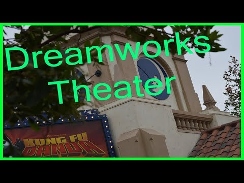 Kung Fu Panda Adventure Dreamworks Theater Universal Studios Hollywood