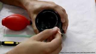 طريقة تنظيف عدسات كانون / Canon's lens cleaning