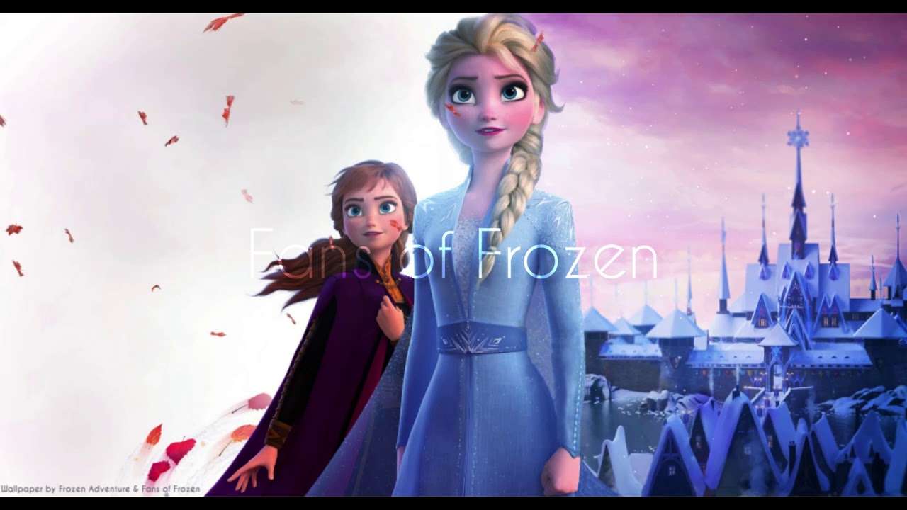Pc Anna Elsa Wind In Hair Frozen 2 Animated Wallpaper Youtube