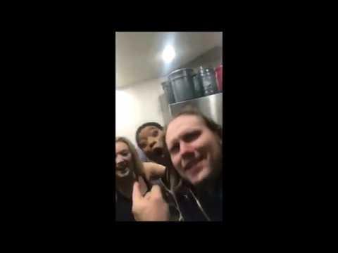 Billie Lourd, Taylor Lautner, Keke Palmer and Abigail Breslin at Scream Queens' wrap party