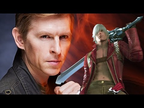 Meeting Reuben Langdon Voice of DMC's Dante, and reenacting a  from DMC3!! AFO 2017