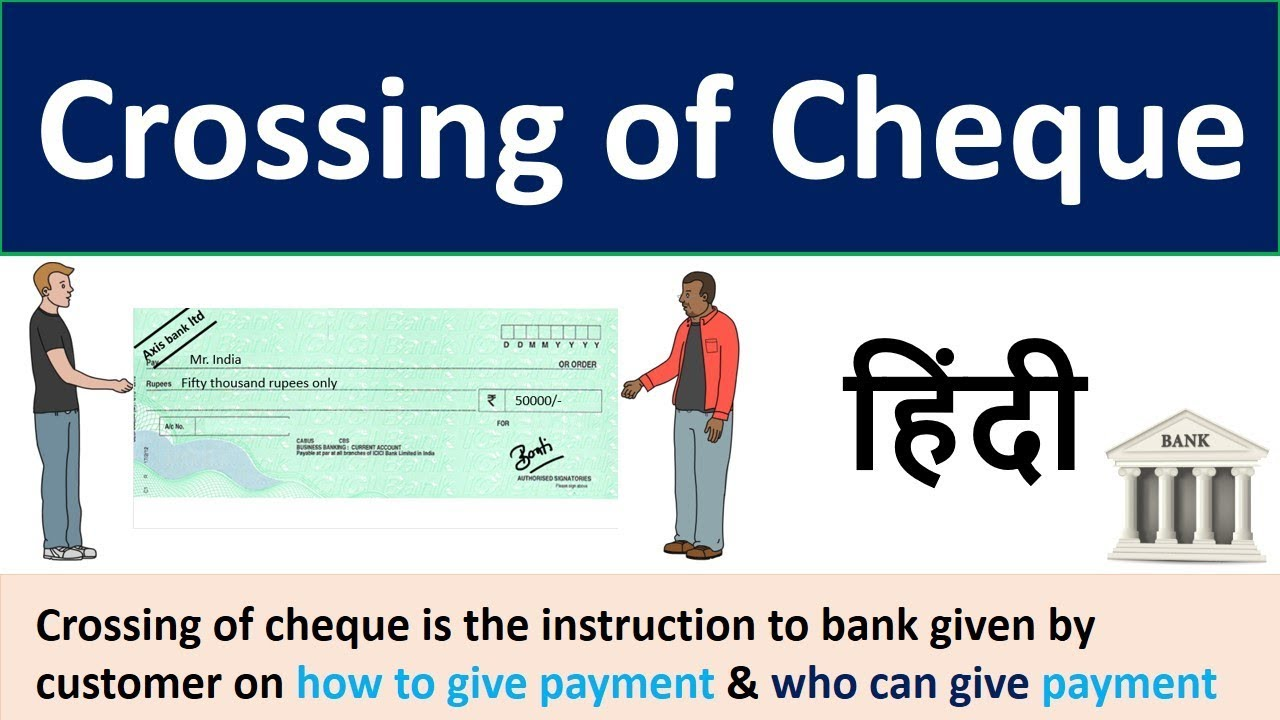 Crossing Of Cheque Crossing Of Cheque And Its Different Types