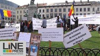 Manifestation militants issus diaspora africaine / Bruxelles - Belgique 02 avril 2014