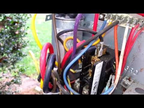 how to replace a contactor
