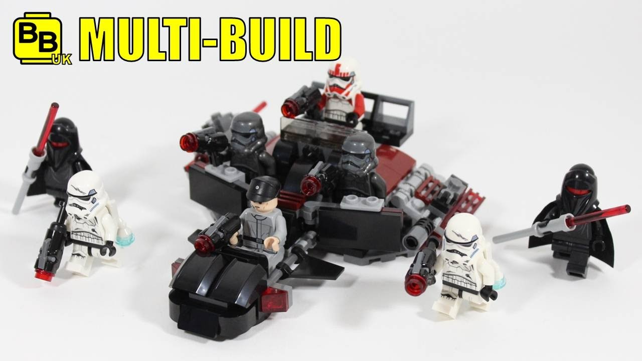 Lego Multi Build