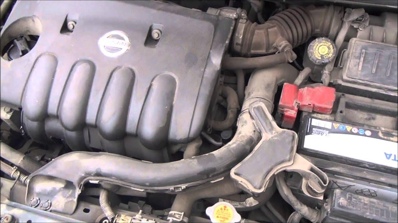 Nissan Note замена сгнившего фланца катализатора и резонатора .