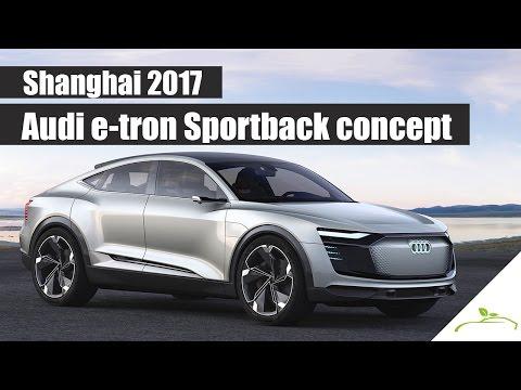 Audi e-tron Sportback concept - Shanghai 2017