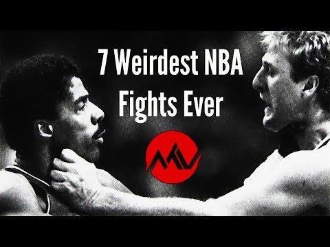 7 Craziest NBA Fights Ever