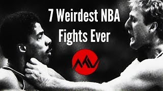 7 Craziest NBA Fights Ever