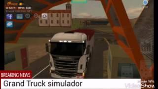 Grand Truck simulador : Multiplayer rolezão louco.