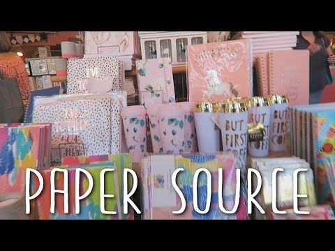 I LOVE PAPER SOURCE!!