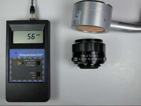 Radioactive Lens -- Pentax 50mm F/1.4 S-M-C Takumar