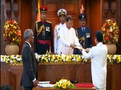 New State and Deputy Ministers sworn in