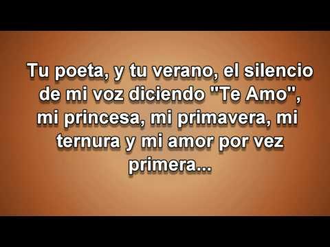 Tu poeta - Alex Campos - letra