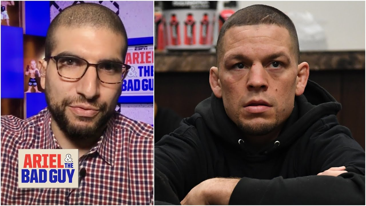 Nate Diaz withdrawing from UFC 262 seems significant – Helwani | Ariel & The Bad Guy