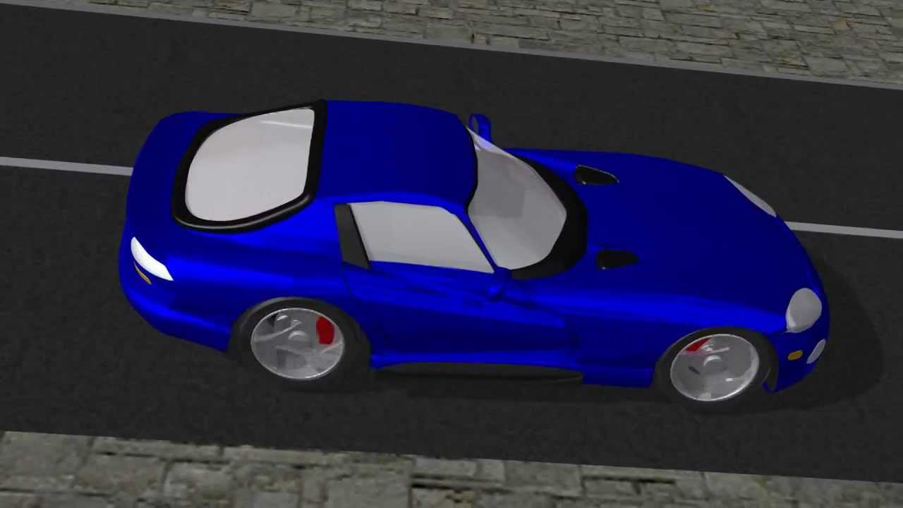 Dodge Viper Morphing Animation Youtube