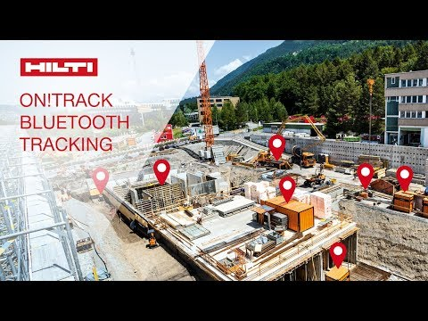INTRODUCING Hilti ON!Track Bluetooth Tracking