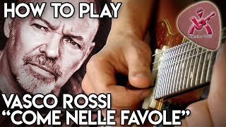 Come Nelle Favole - Assolo originale di chitarra - Vasco Rossi - how to play - Massimo Varini