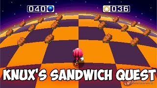 Sonic Mania - Knux's Sandwich Quest | Walkthrough ⮚ Sonic Mania Mods