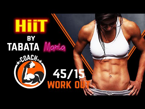 HiiT Workout Song w/ TIMER 45/15 BRUTAL