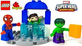 UNBOXING LEGO DUPLO MARVEL SUPER HERO - SPIDER-MAN AND HULK ADVENTURES