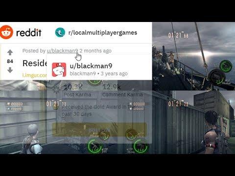 Resident Evil 5 Local Splitscreen Steam Version (NO NEED DOWNGRADE TO GFWL)