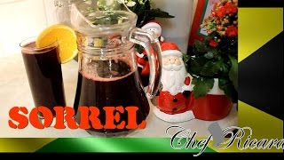 Jamaican Sorrel Christmas Dinner Drink