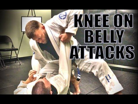 Jiu-Jitsu - Knee on Belly Attacks