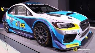 2016 Subaru WRX STI Time Attack -  Exterior Walkaround - 2017 Detroit Auto Show