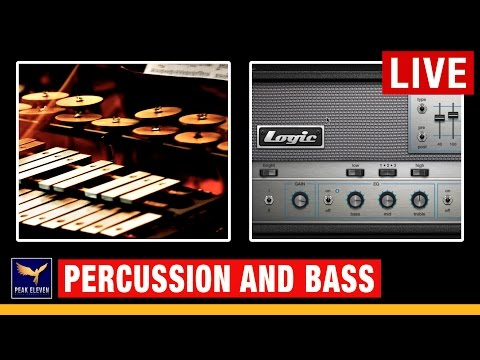 Percussion and Bass Template (Music Makers Live Show)