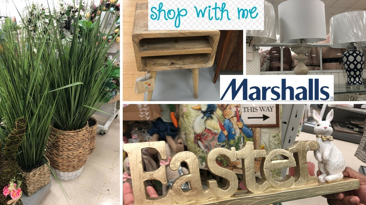 Marshalls Shop With Me 2018PT2New Spring Items Home decor and Beautiful furniture Spring 2018