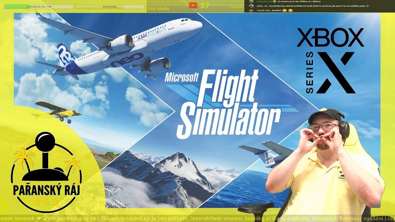 Microsoft Flight Simulator | Testujeme letecký simulátor z Game Passu na Xbox Series X | CZ 4K60 HDR