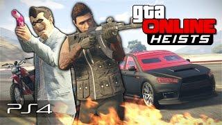 GTA 5 Online Heists - Лютые ограбления! #107