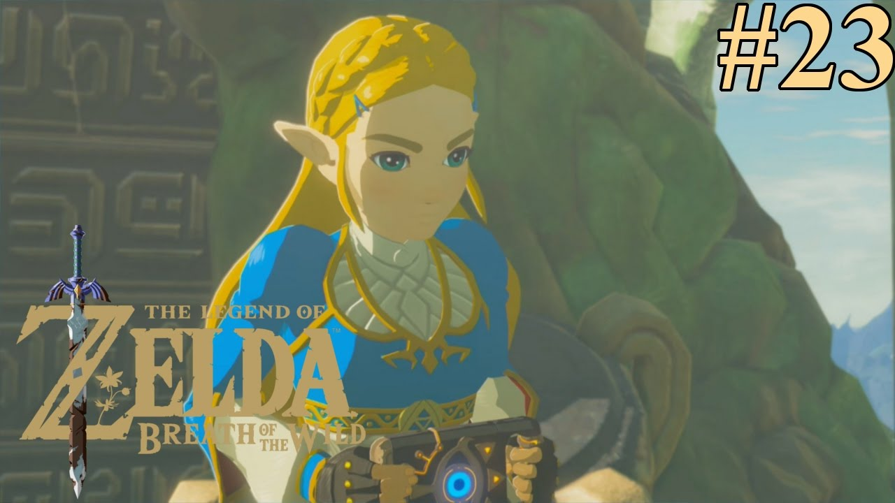 Legend Of Zelda Breath Of The Wild Walkthrough Episode 23 The Forgotten Temple